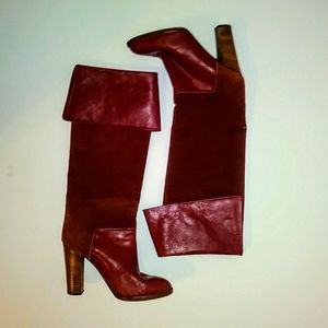 Rare Vero Cuoio Italian Leather Boots